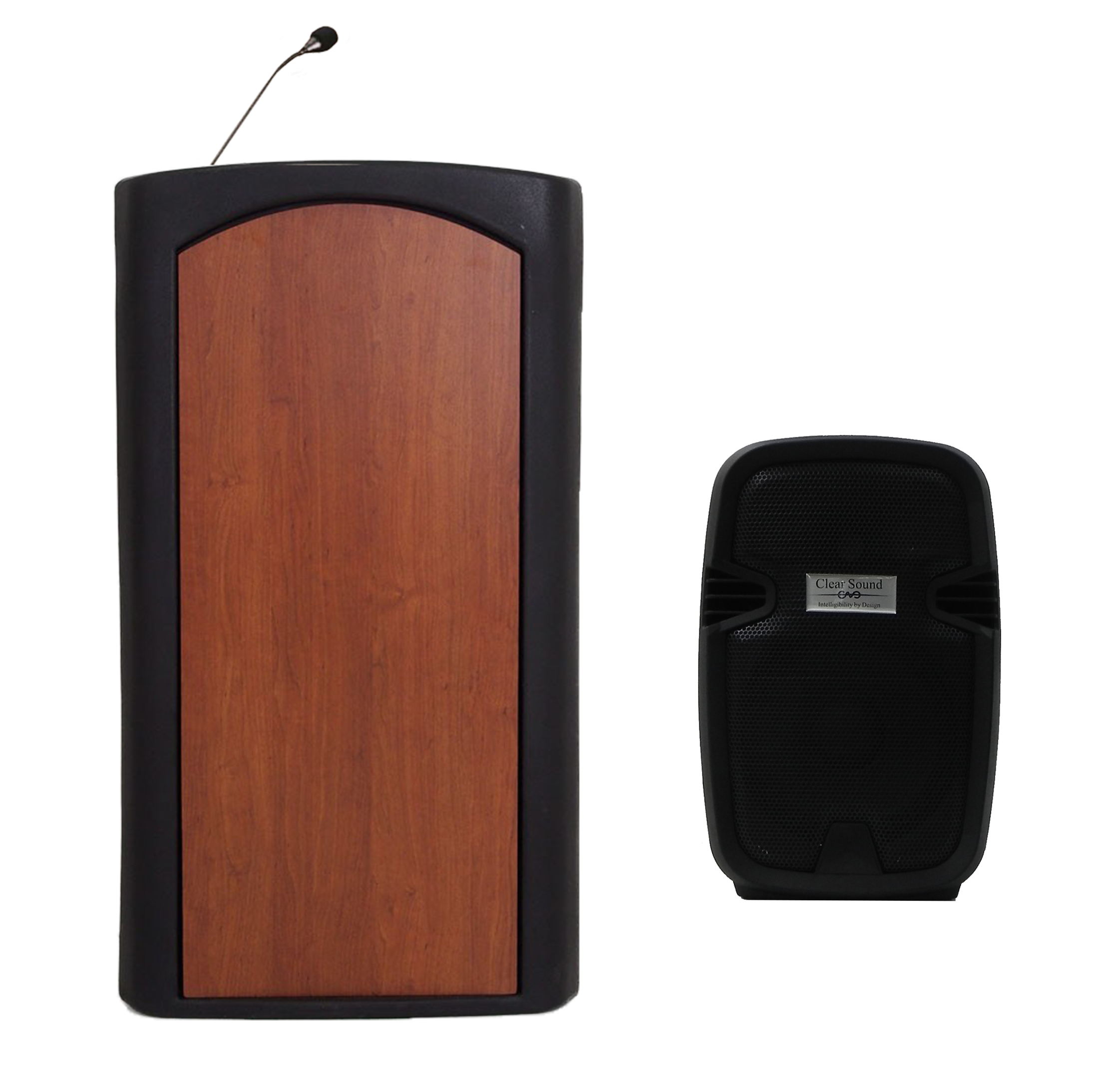 Accent Classic Freedom UHF Lecterns and Podiums, Black - Dan James Original