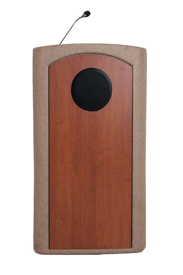 Presenter Podium Lectern with Internal Speaker
