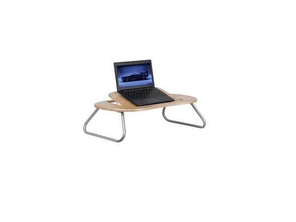 Angle Adjustable Laptop Desk With Natural Top