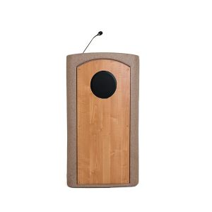 Accent Classic Presenter Podium Lectern Internal Speaker, Beige Granite