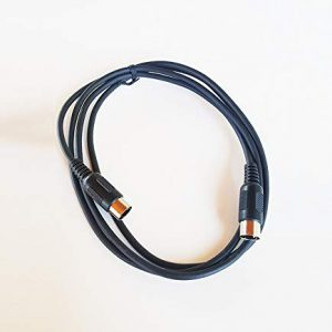 6 Foot Durable MIDI Cable for Keyboards & Other Professional Digital Instrument