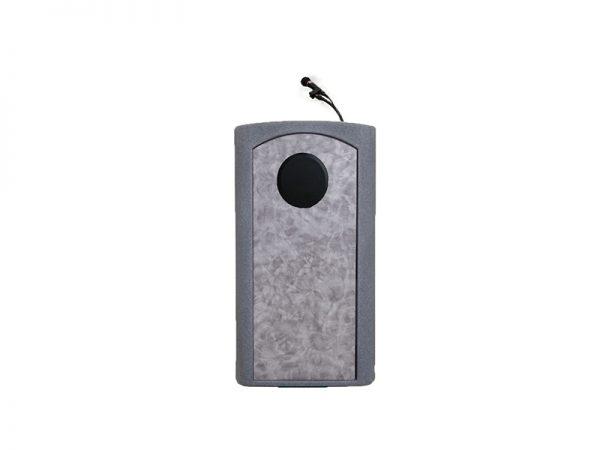 Accent Classic Presenter Podium Lectern Internal Speaker, Gray Granite - Dan James Original