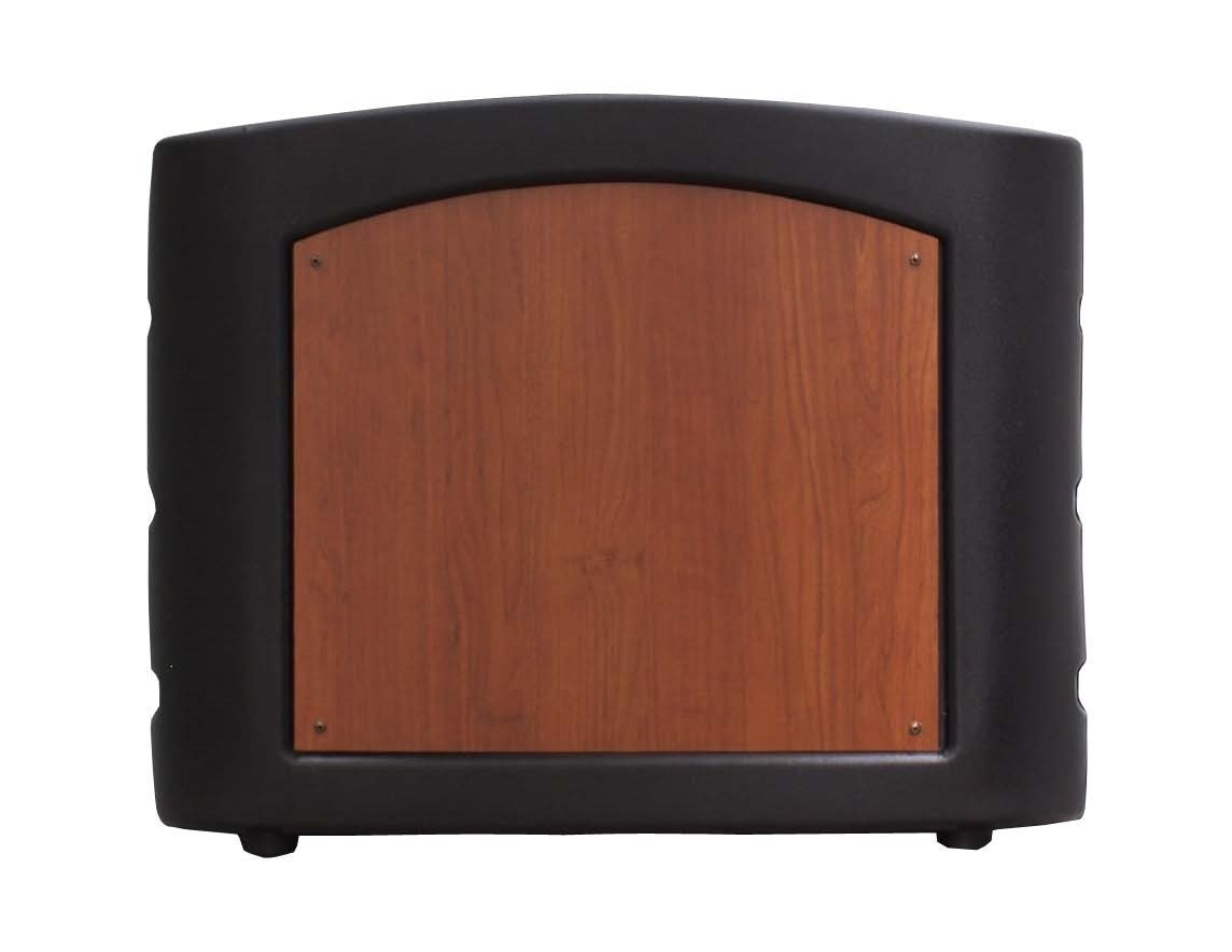 Accent Chameleon Table Top Podium Lectern, Black/Cherry wood - Dan James Original