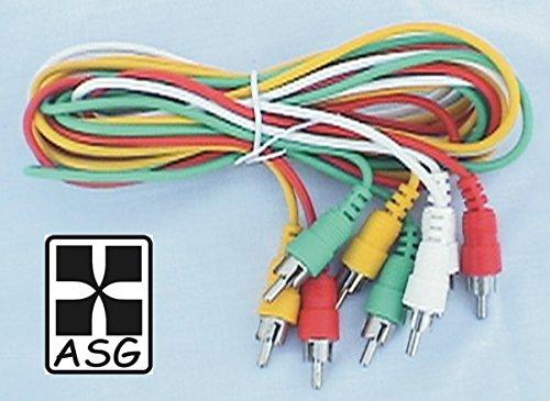 Audio/Video Cord - 6', four RCA to four RCA