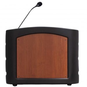 Accent Integrator Table Top Podium Lectern, Black - Dan James Original