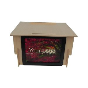 Accent Classic Table Top Logo Lectern Podium - Dan James Original