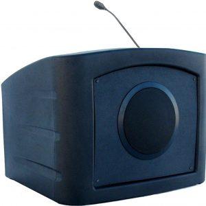 Accent Presenter Table Top Podium Lectern, Black - Dan James Original