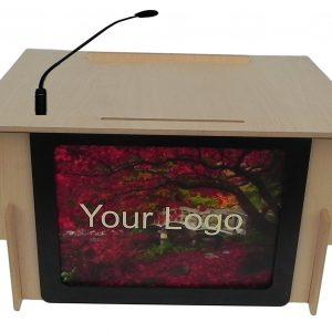 Accent Classic Table Top Logo Lectern Integrator - Dan James Original