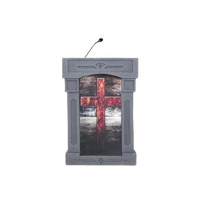 Accent Da Vinci Integrator, Gray with Cross Front Pulpit - Dan James Original