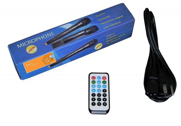 12 Inch MP3, Wireless, Powered Speaker System