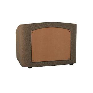 Accent Integrator Table Top Podium Lectern, Bronze Granite - Dan James Original