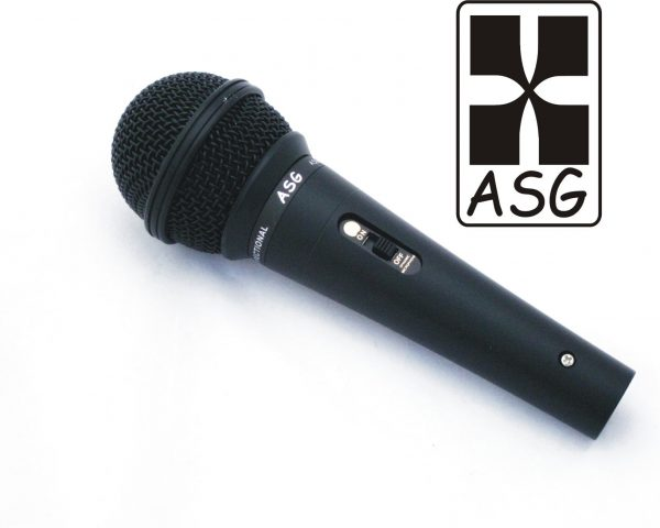 Clear Sound Hand Held Mic with Switch