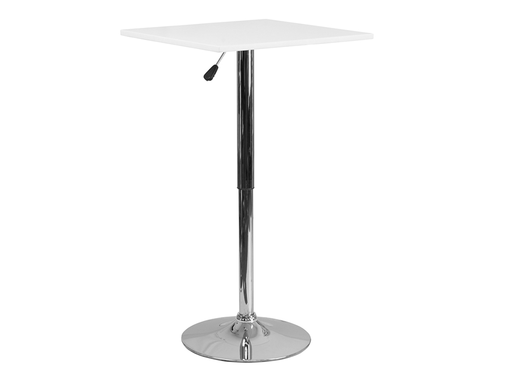 23.75'' Square Adjustable Height Table