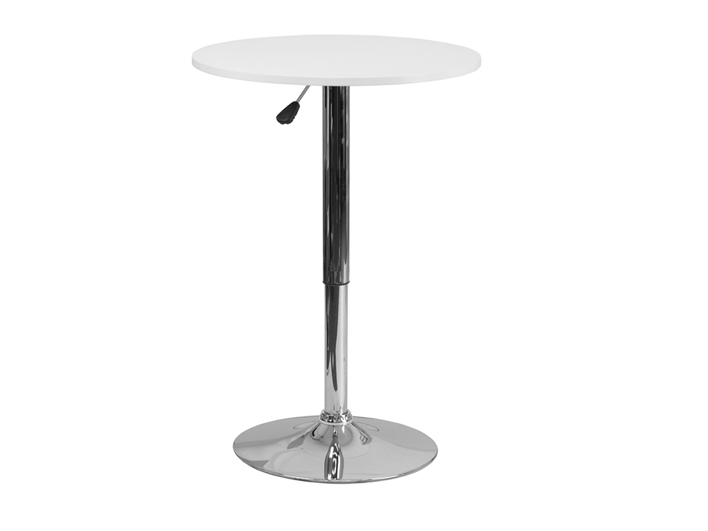 23.75'' Round Adjustable Height Table