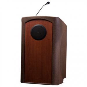Presenter Podium Lectern with Internal Speaker
