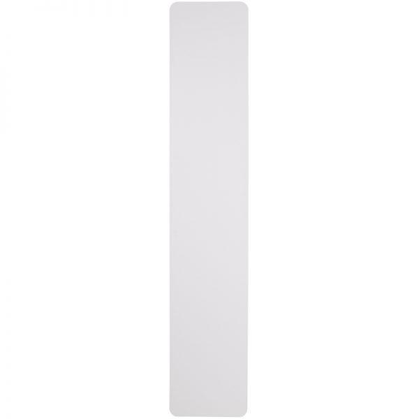 8' Granite White Plastic Folding Training Table