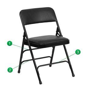 HERCULES Series Curved Chair