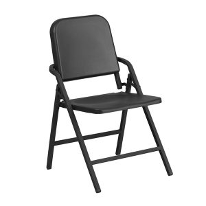 HERCULES Series Black High Density Folding Chair