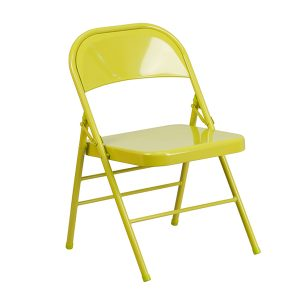 HERCULES COLORBURST Series Twisted Citron Chair