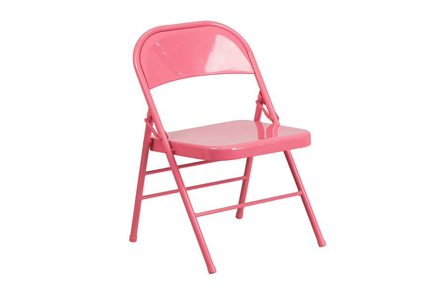 HERCULES COLORBURST Series Bubblegum Pink Chair