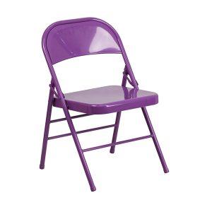 HERCULES COLORBURST Series Impulsive Purple Chair
