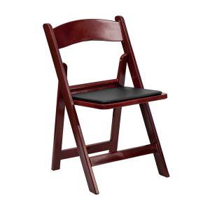 HERCULES Series Red Mahogany Chair