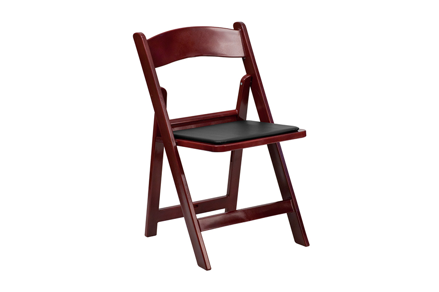 HERCULES Series Red Mahogany Chair