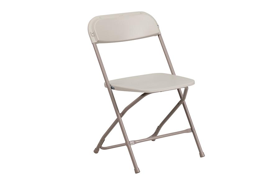 HERCULES Series Premium Beige Plastic Chair