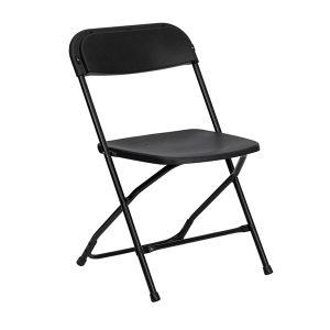 HERCULES Series Premium Black Plastic Chair