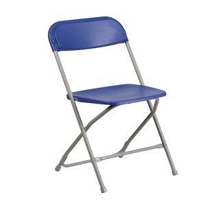 HERCULES Series Premium Blue Plastic Chair