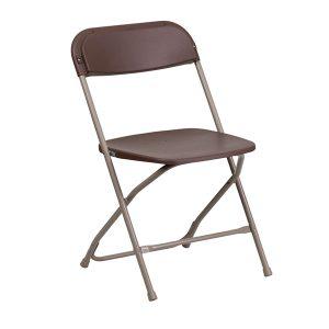 HERCULES Series Premium Brown Plastic Chair