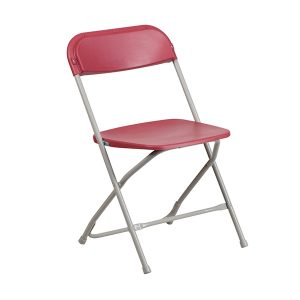 HERCULES Series Premium Red Plastic Chair