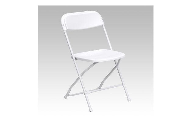 HERCULES Series Premium White Plastic Chair