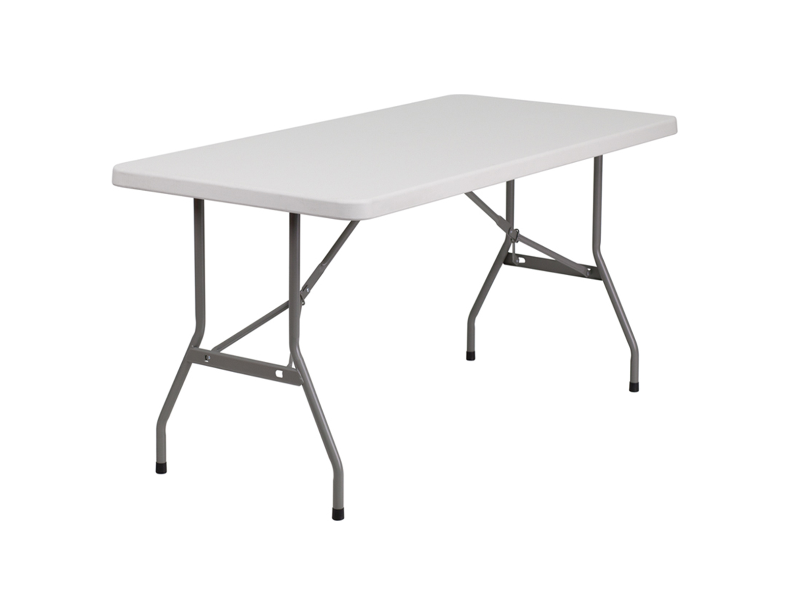 5' Plastic Folding Table