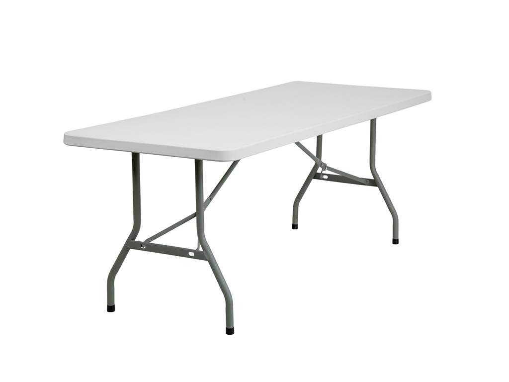 6' Plastic Folding Table