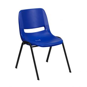 Hercules Series Navy Shell Chair