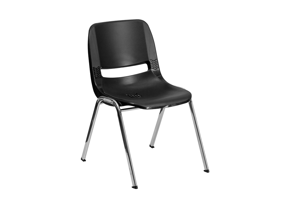 Hercules Series Black Stack Chair