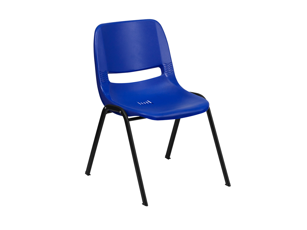 Hercules Series Navy Stack Chair