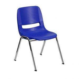 Hercules Series Navy Stack Chair