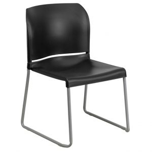 HERCULES Series Black Full Back Chair