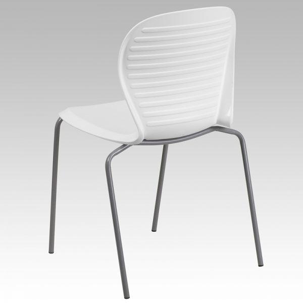 HERCULES Series White Stack Chair