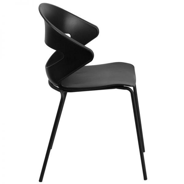 HERCULES Series Black Stack Chair