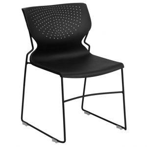 HERCULES Series Black Chair