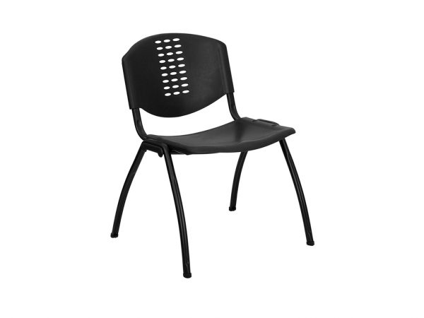 HERCULES Series Black Plastic Chair