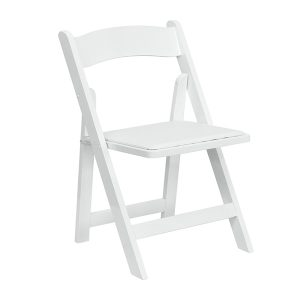 HERCULES Series White Wood Chair