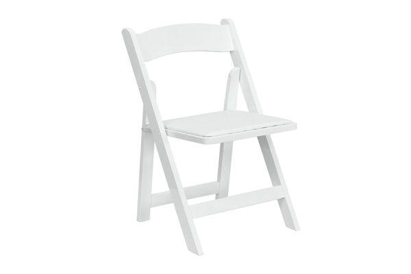 HERCULES Series White Wood Chair
