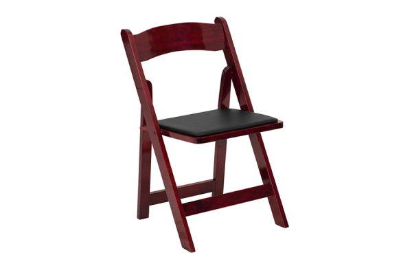 HERCULES Series Mahogany Wood Chair