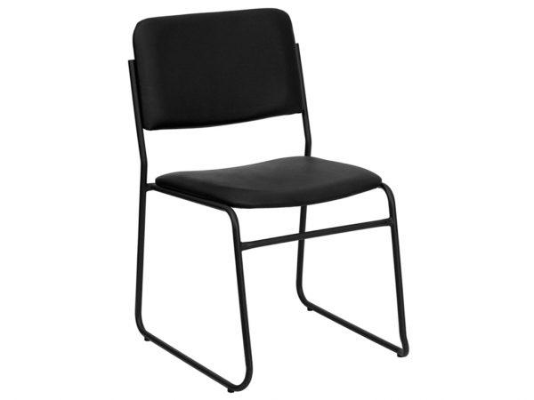 HERCULES Series Black Vinyl Chair