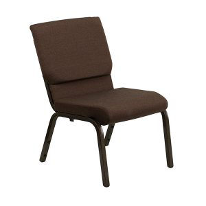 HERCULES Series 18.5''W Brown Fabric Chair
