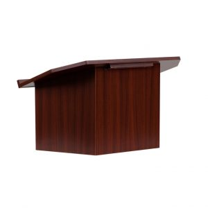 Foldable Mahogany Table Top Lectern